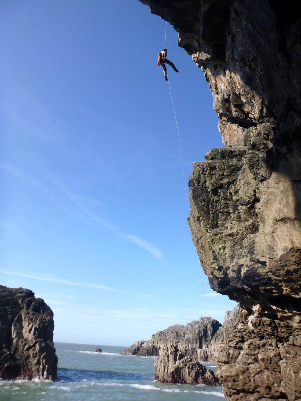 Sea Cliff Abseiling