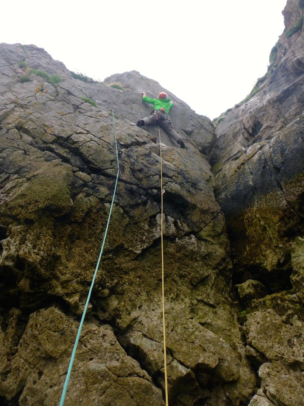 Rock Climbs Tenby