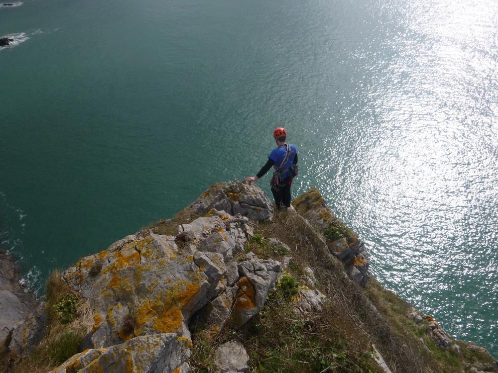 Descent ridge at Proud Giltar