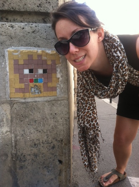 We hunted Space Invaders across Paris!