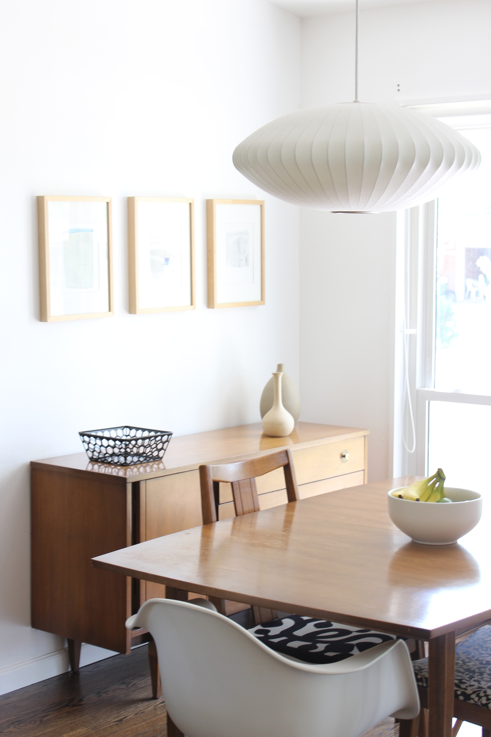 Our house midcentury modern in st louis part two for Mid century modern dining rooms