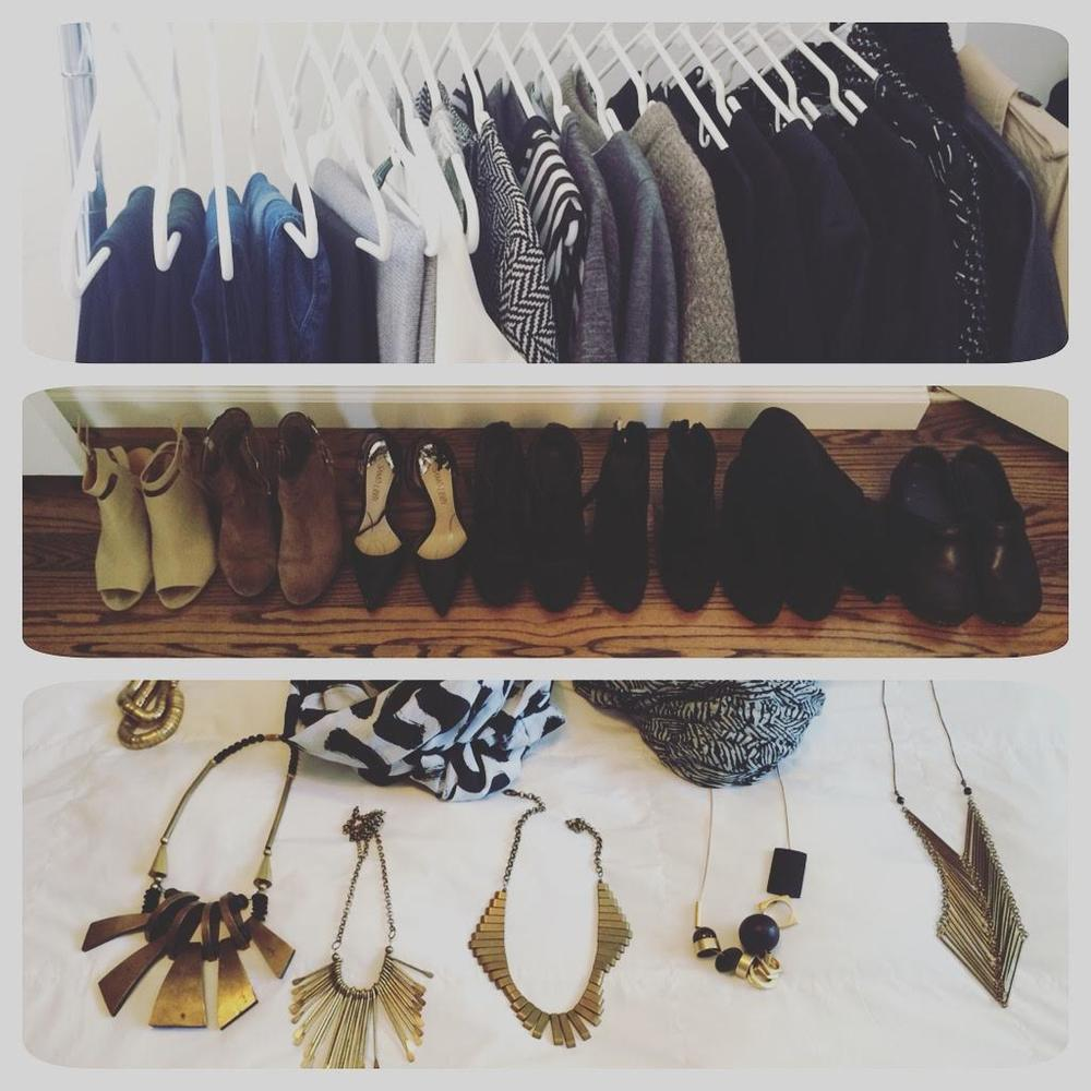 project 333 fall capsule wardrobe