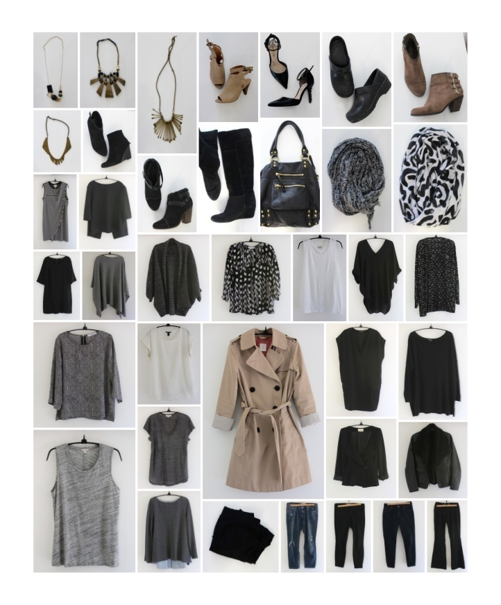 mindful closet project 333 capsule wardrobe