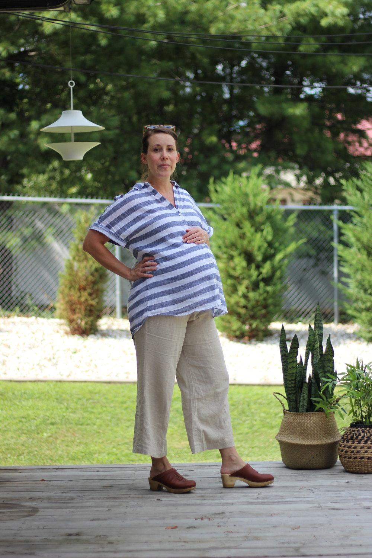 maternity 10x10 challenge