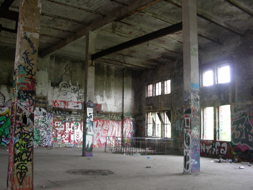 The upper floor.