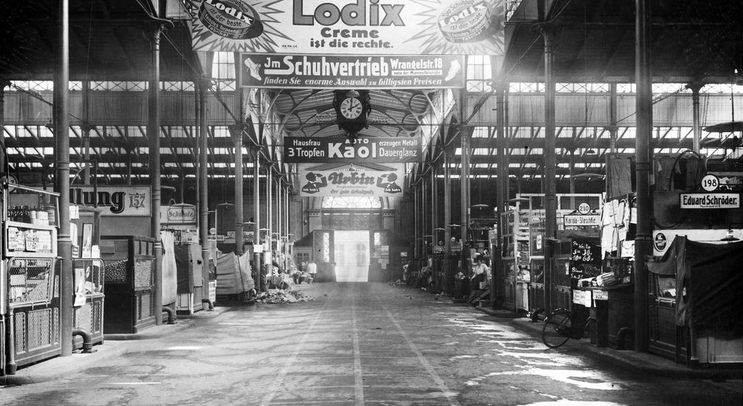 The inside of Markthalle IX in an undated image. Photo Credit:  Markthalle Neun.