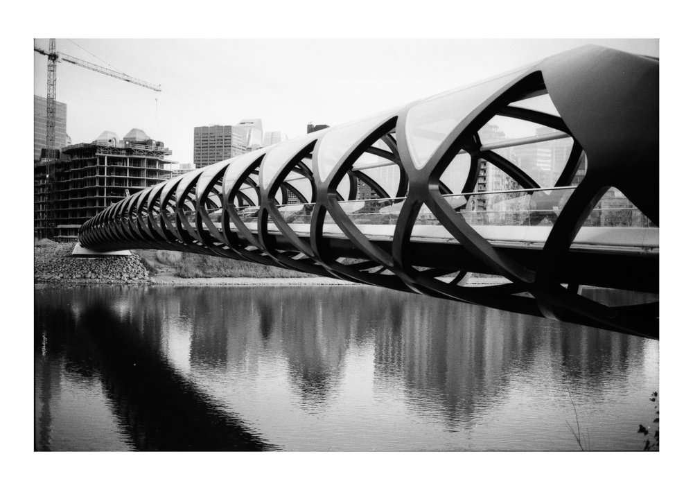 Diamondtimes Calgary Peace Bridge  Illford2.jpg