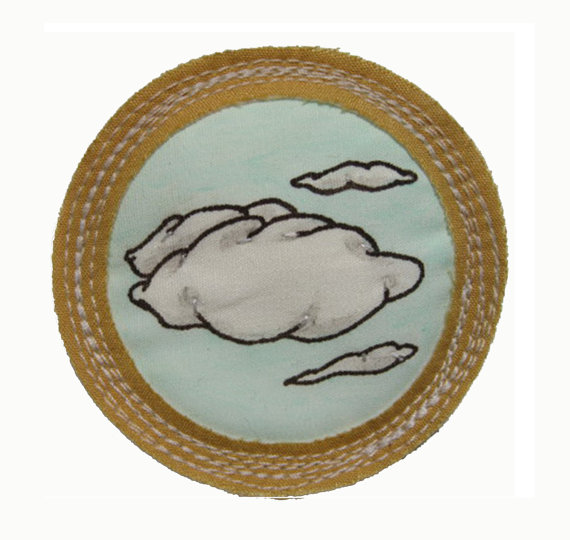 For 'Having Your Head in the Clouds'.   $15