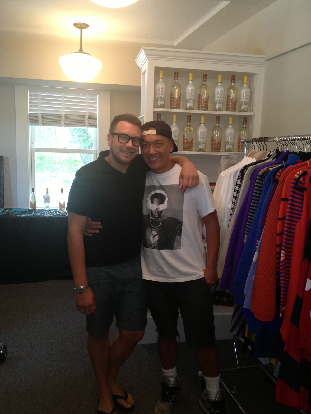Joe Zee and Rob Yonkers