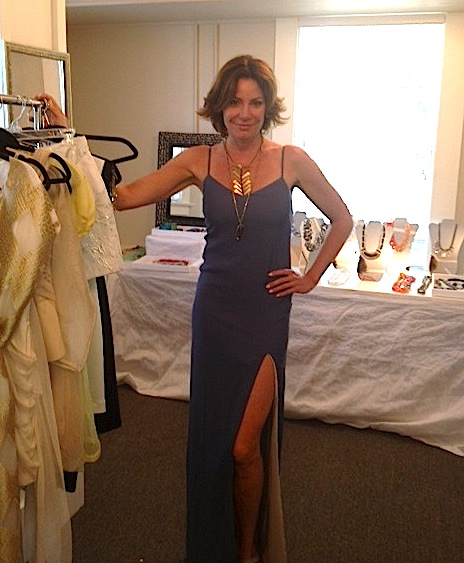 Countess LuAnn in Dana-Maxx and Double Happiness Jewelry
