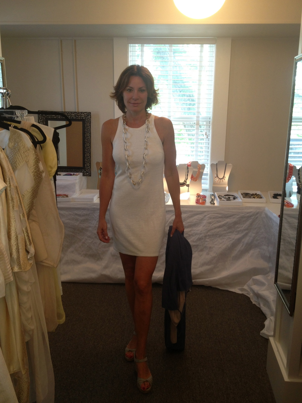 Countess Luann in Synderela Story and PONO jewelry