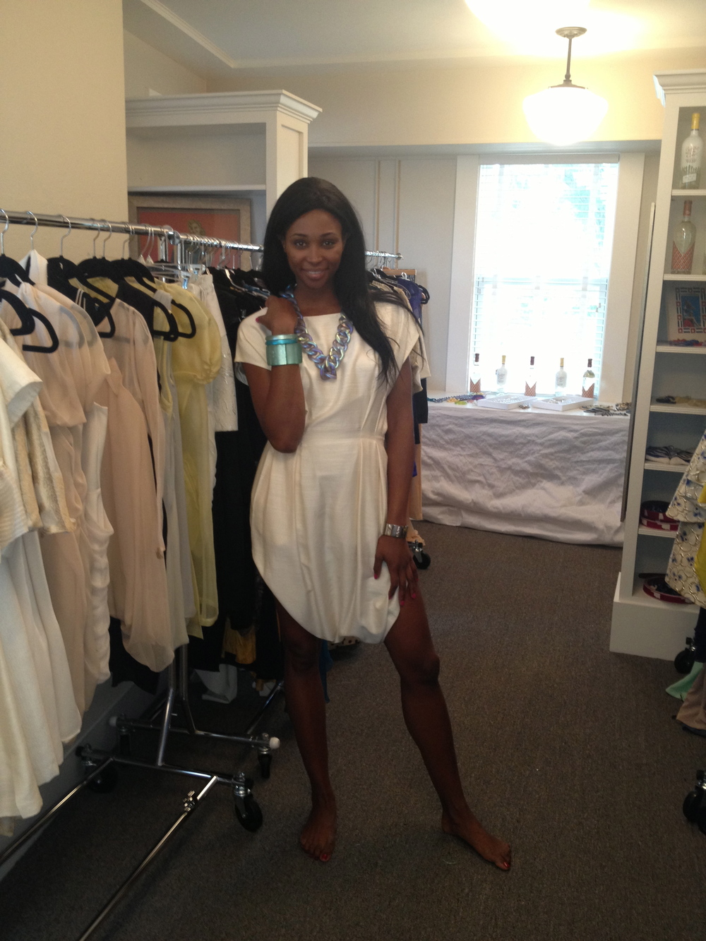 Miss USA 2012 Nana Merriwether in Suma Chander