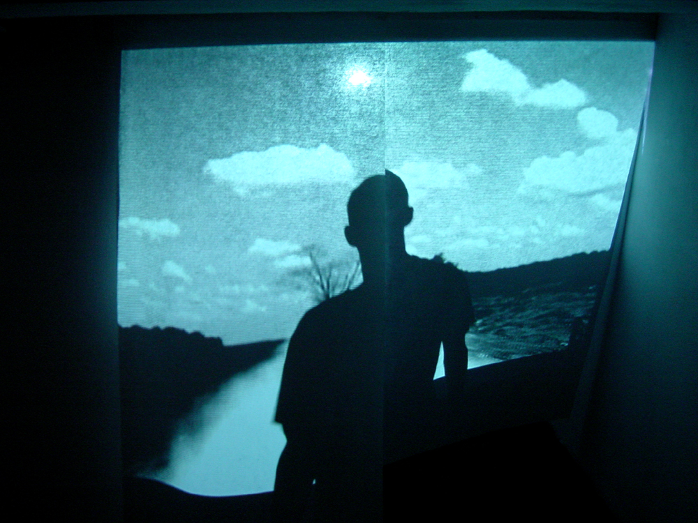 New Dose. Video projection