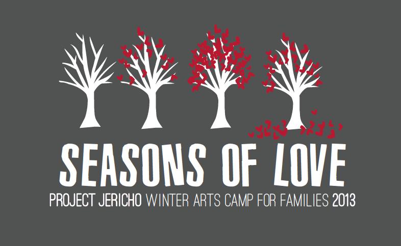Project Jericho 's Winter Arts Camp 2013 Identity