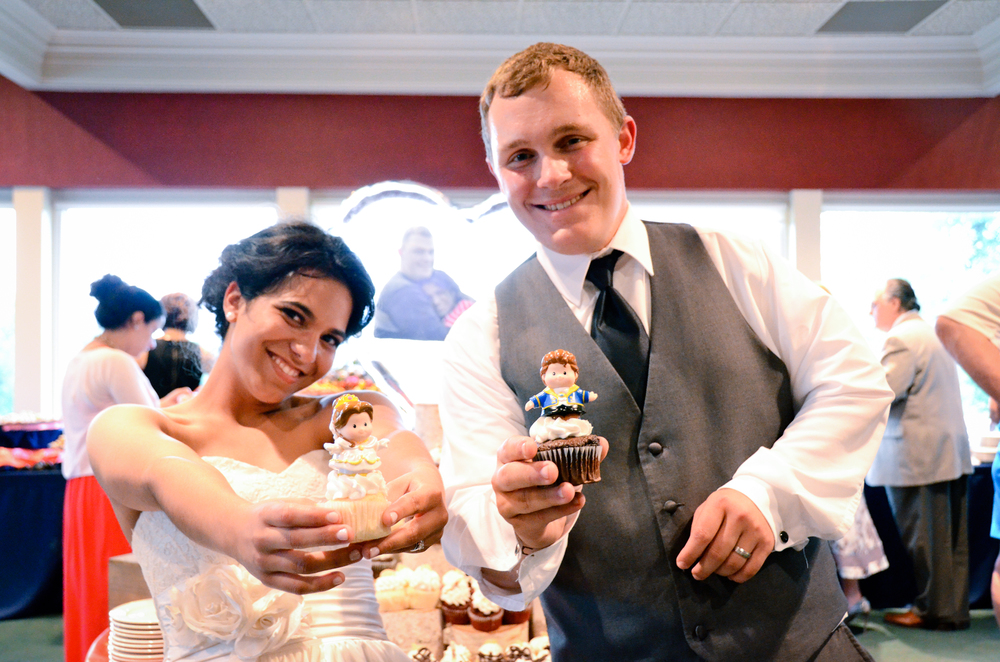 Nothing beats marriage, but cupcakes are a close second!