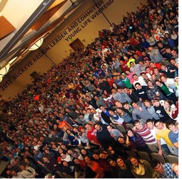 January | Young Life leader weekend at Great Wolf Lodge. Say hello to THE Buckeye Region.
