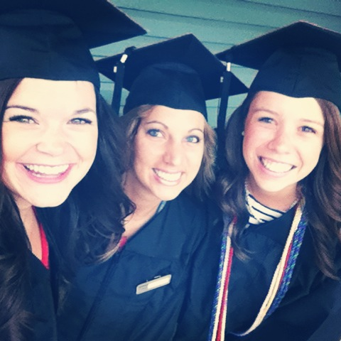 May | Commencement! Graduating from Wittenberg University alongside my beautiful roomies and friends was a highlight of my entire life. Love you two!