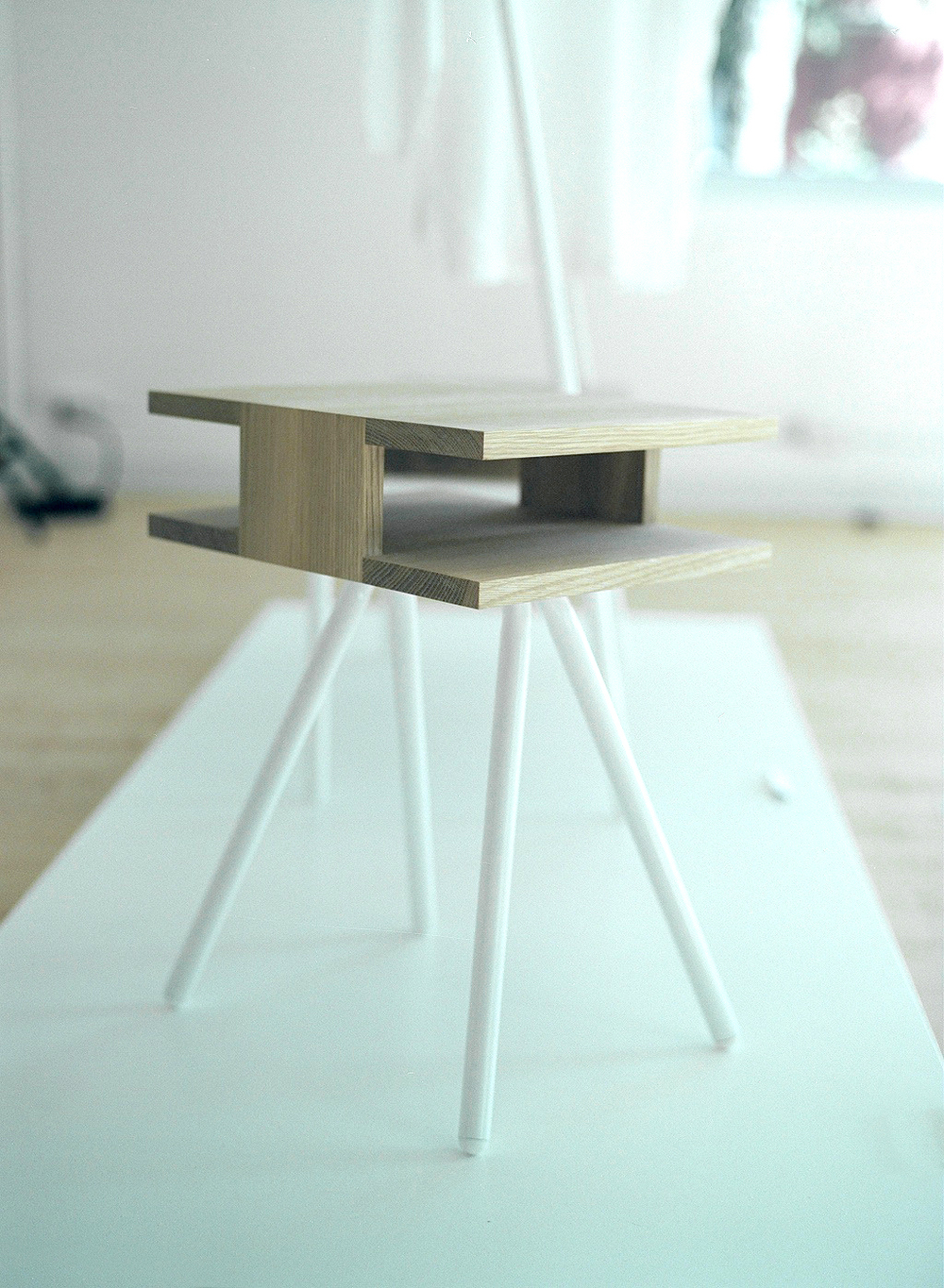 Steel Wood Table