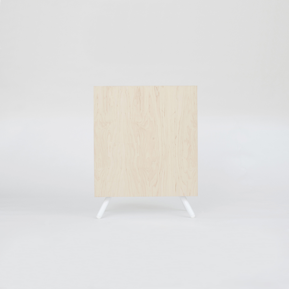 Thom Fougere Square Side Table