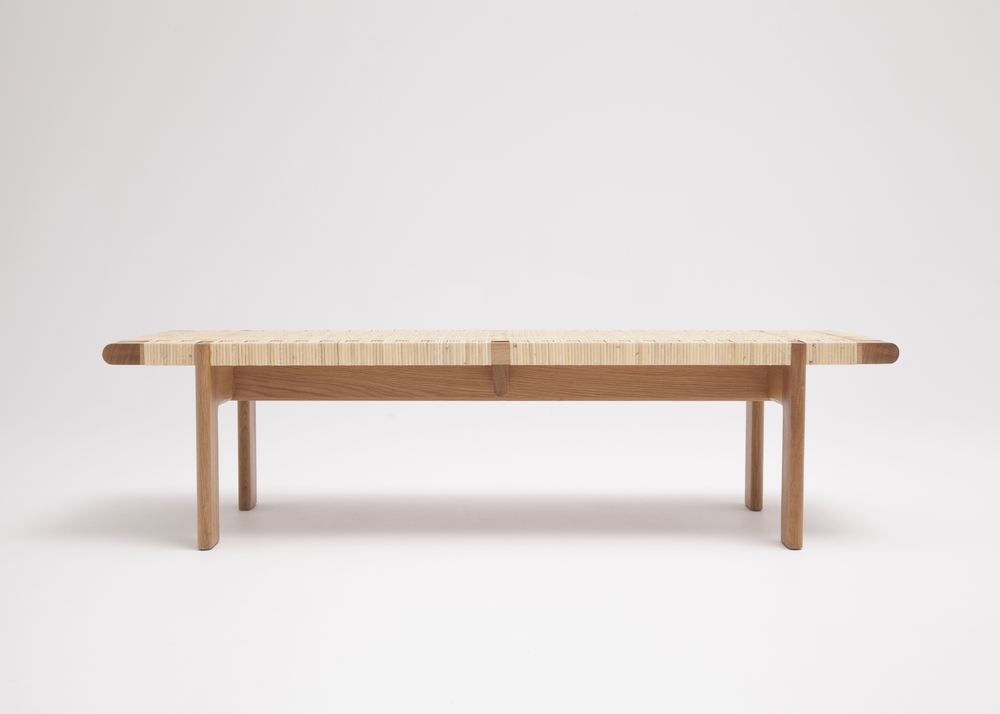 Rattan Bench Thom Fougere