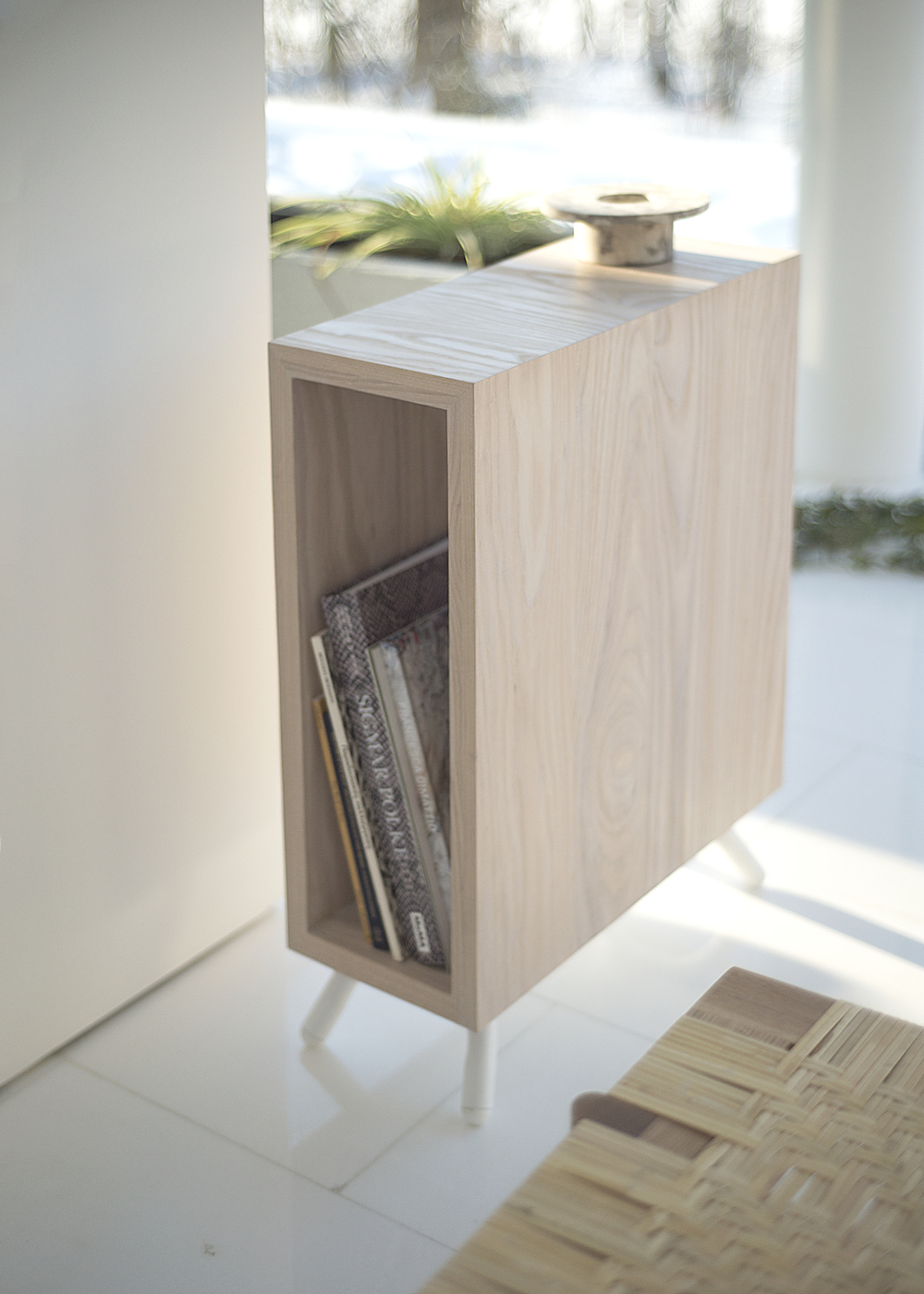Thom Fougre Square Side Table