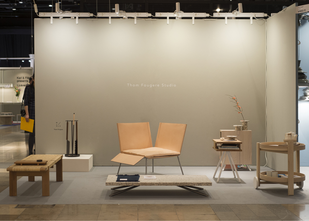 Stockholm Furniture Fair 2016 Thom Fougere Studio