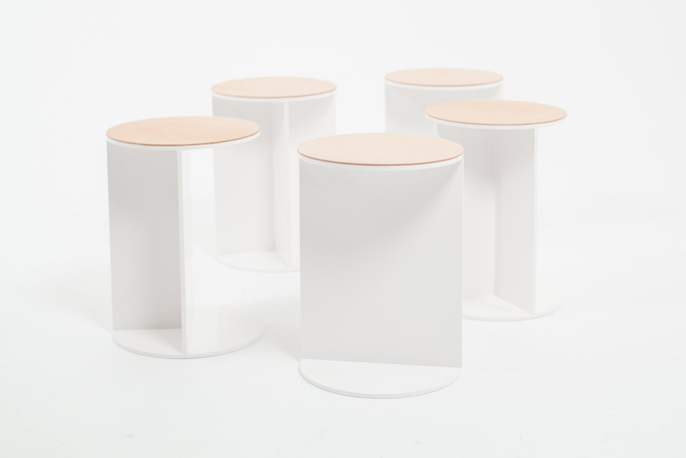 Thom Fougere Cafe Stool
