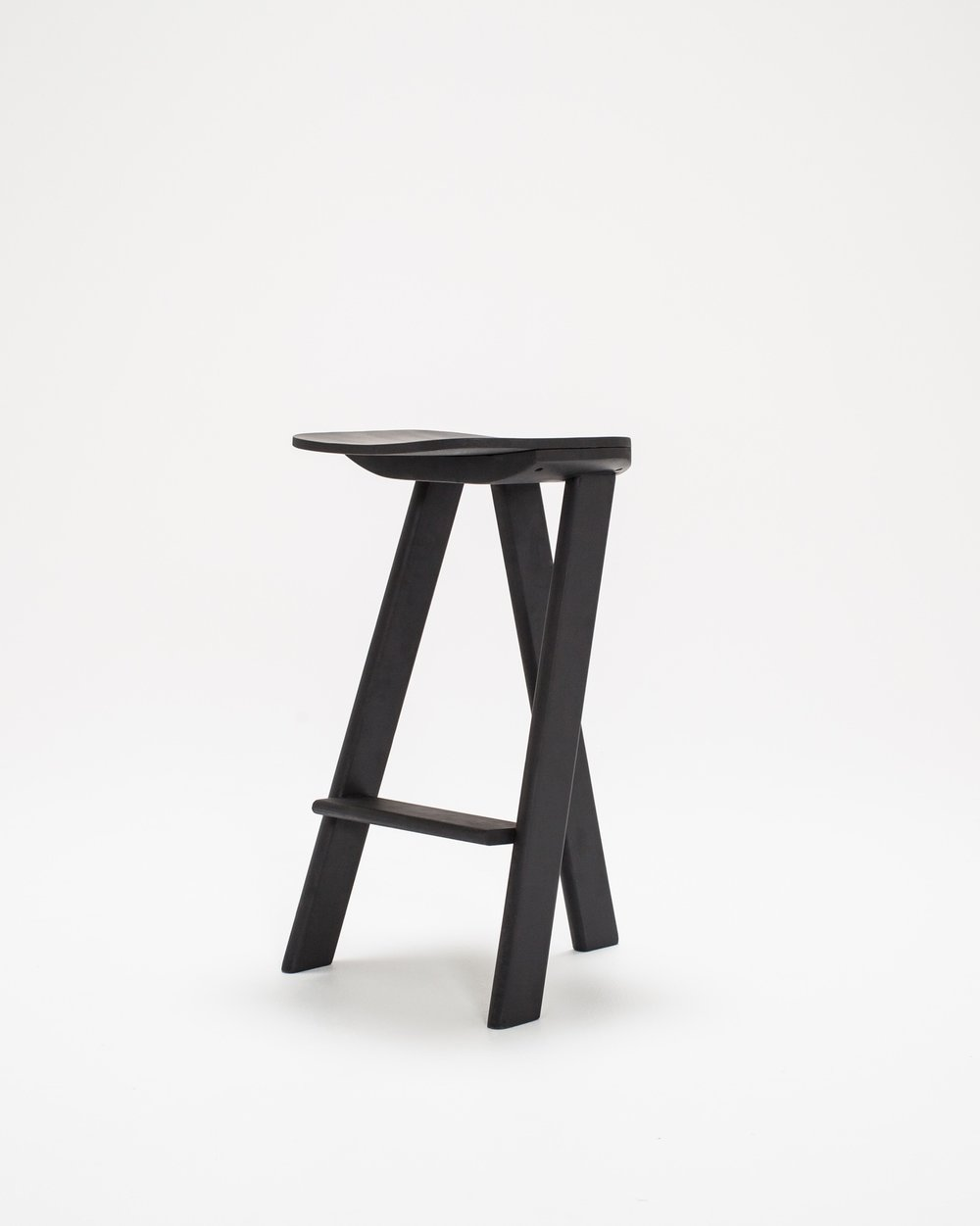 Thom Fougere Bar Stool Tri Pod