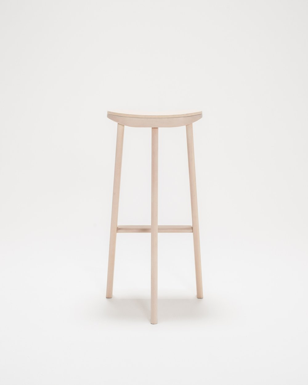 Thom Fougere Tripod Bar Stool