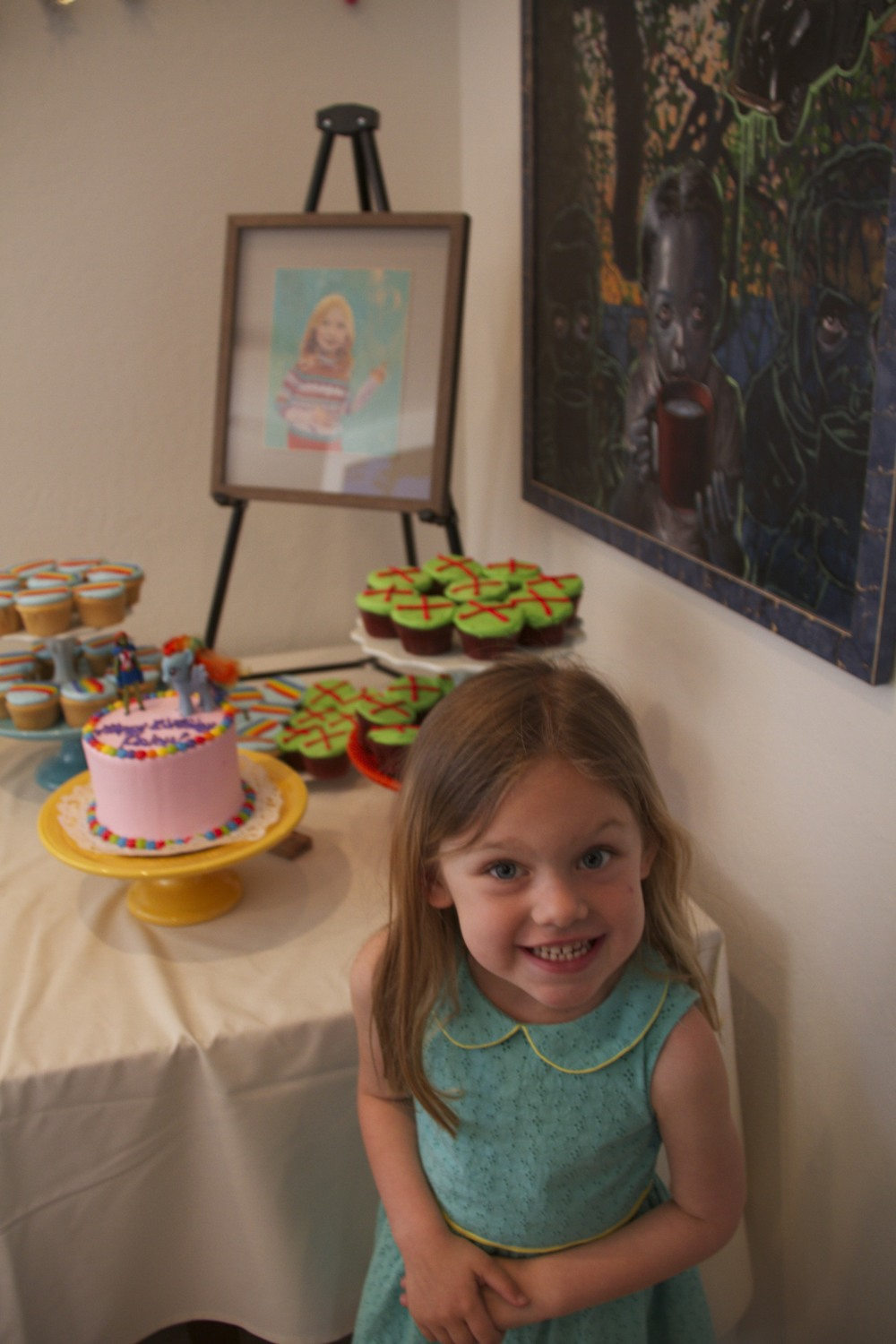Paley's 5th Birthday Party (Megan vs. Ranbow Dash Party)
