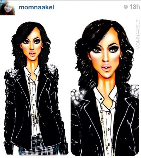 cool fan art of olivia pope