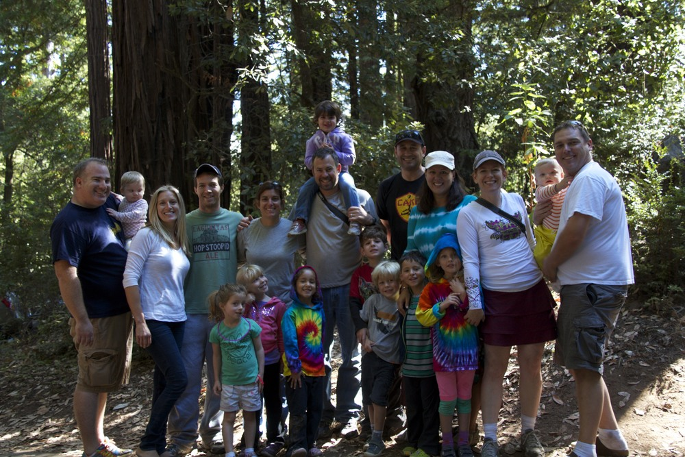 5 Families = 1 Fun Camping Experience