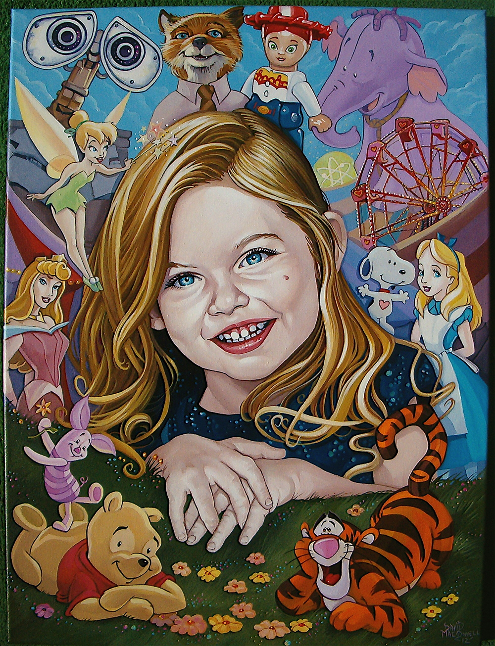 "Paley's ""4th Birthday"" Portrait by Dave MacDowell"