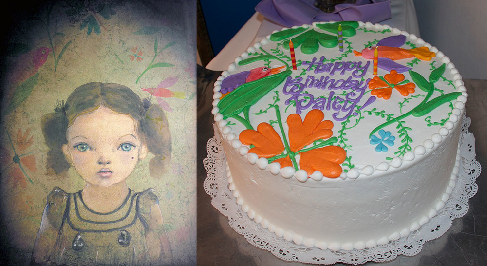 Paley's 3rd Portrait & Birthday Cake