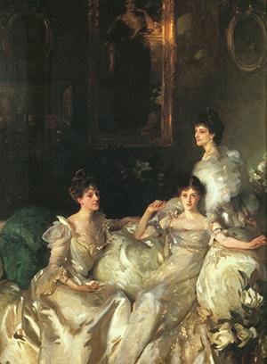 Madeline, Pamela & Mary Wyndham by John Singer Sergeant