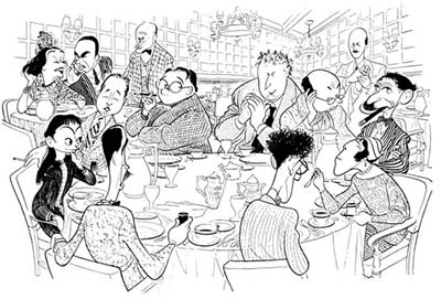 The Vicious Circle drawn by Hirschfeld