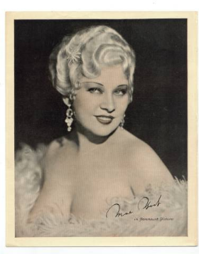 Mae West made the Marcel Wave the go to hairstyle in the 20's and 30's