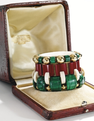 Cunard's African Bangle by Boucheron