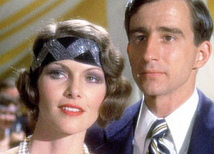 Nick with Jordan played by Lois Chiles