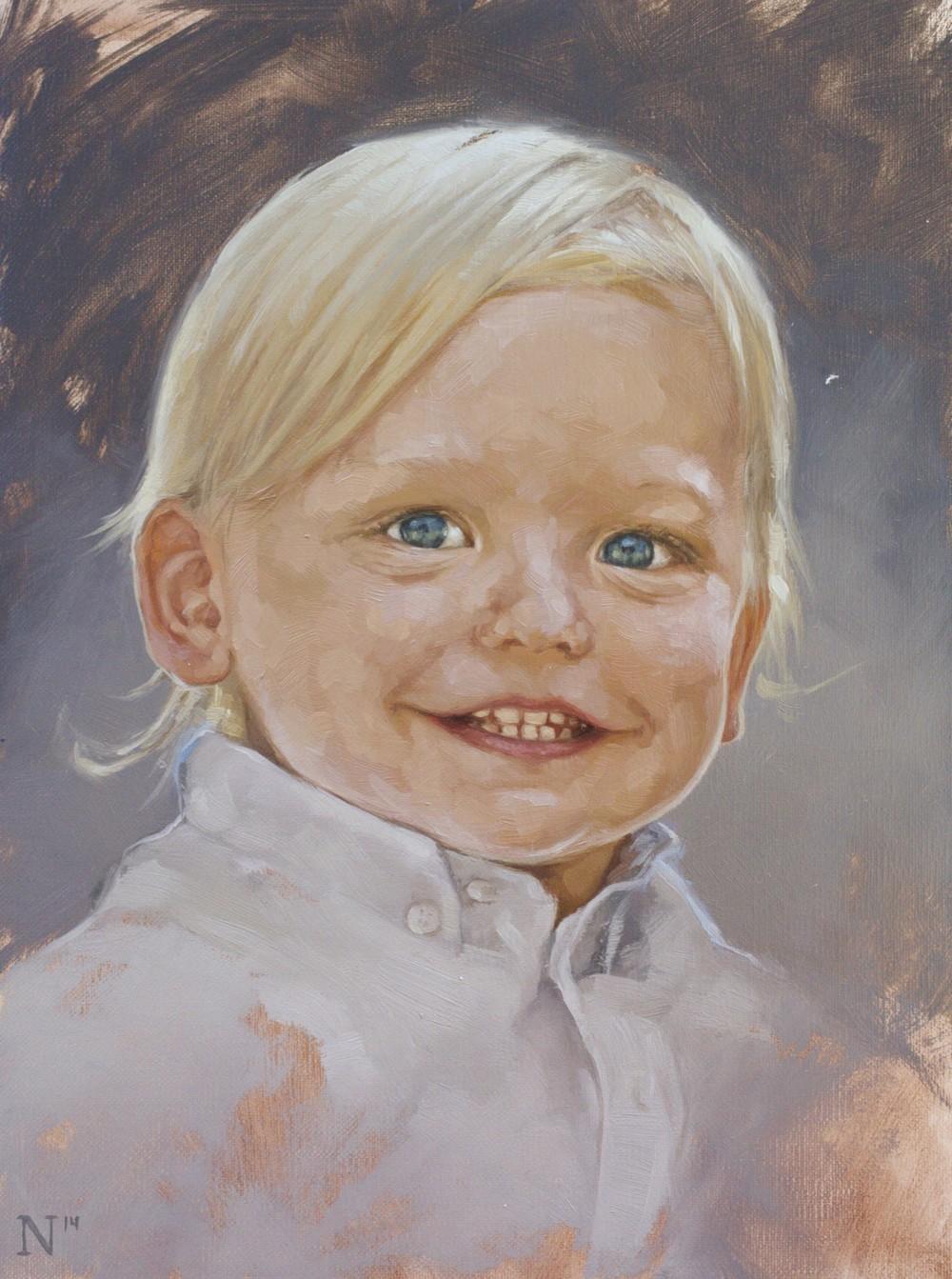 Lochlan 2 Year Portrait by Aaron Nagel