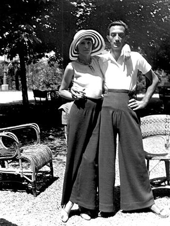 Gala & Salvador in 1930's
