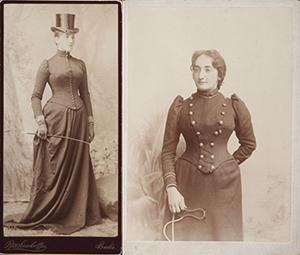 Etta (left) and Claribel (right)