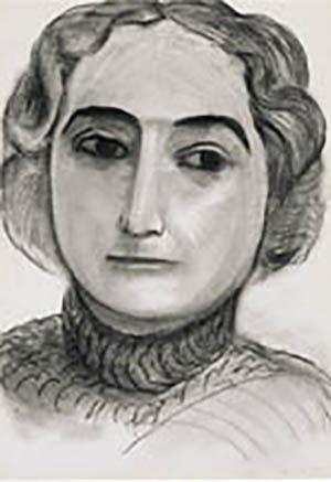 Claribel Portrait by Henry Matisse