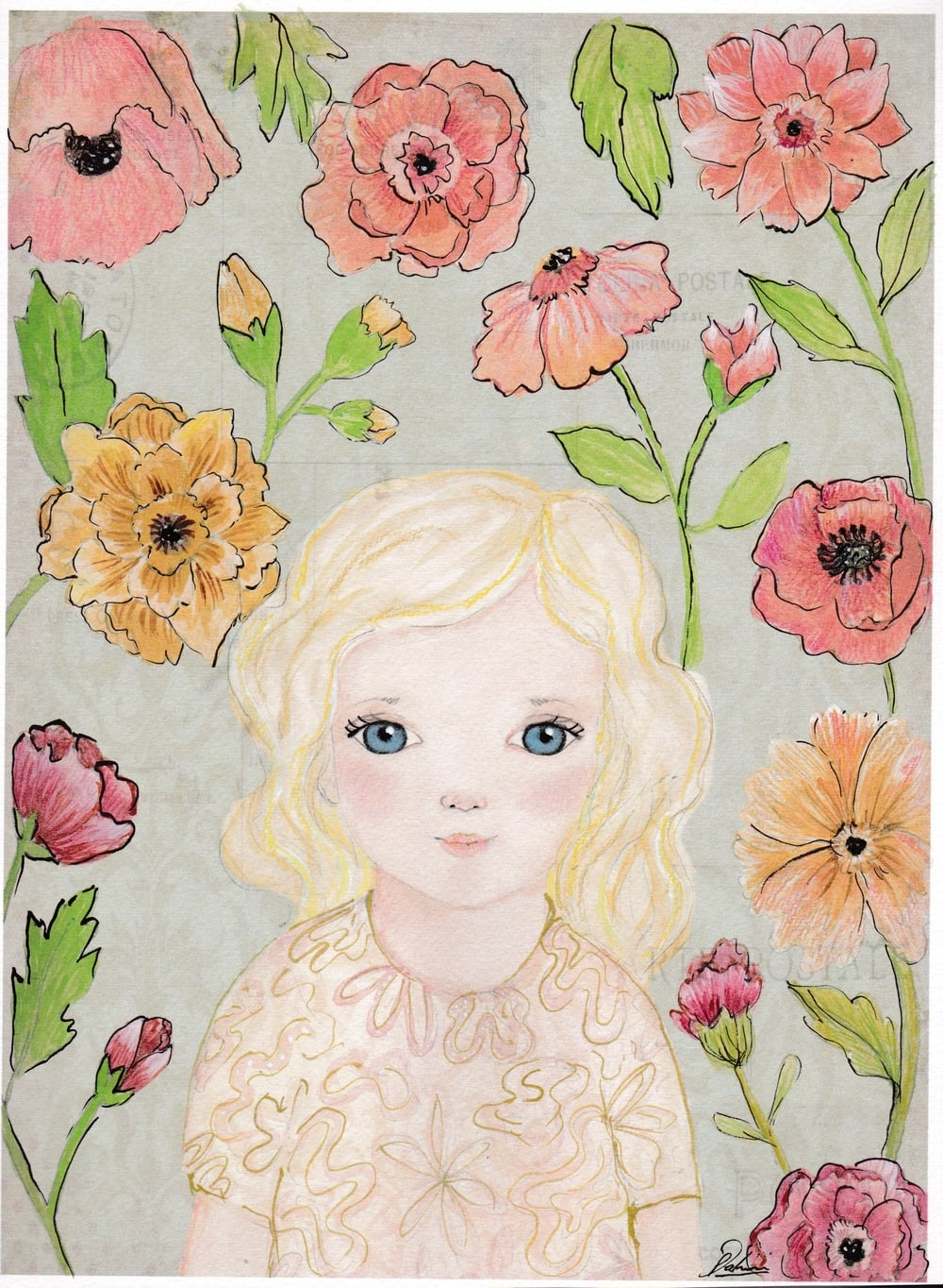 """""""Margot 3"""" by Paola Zakimi"""