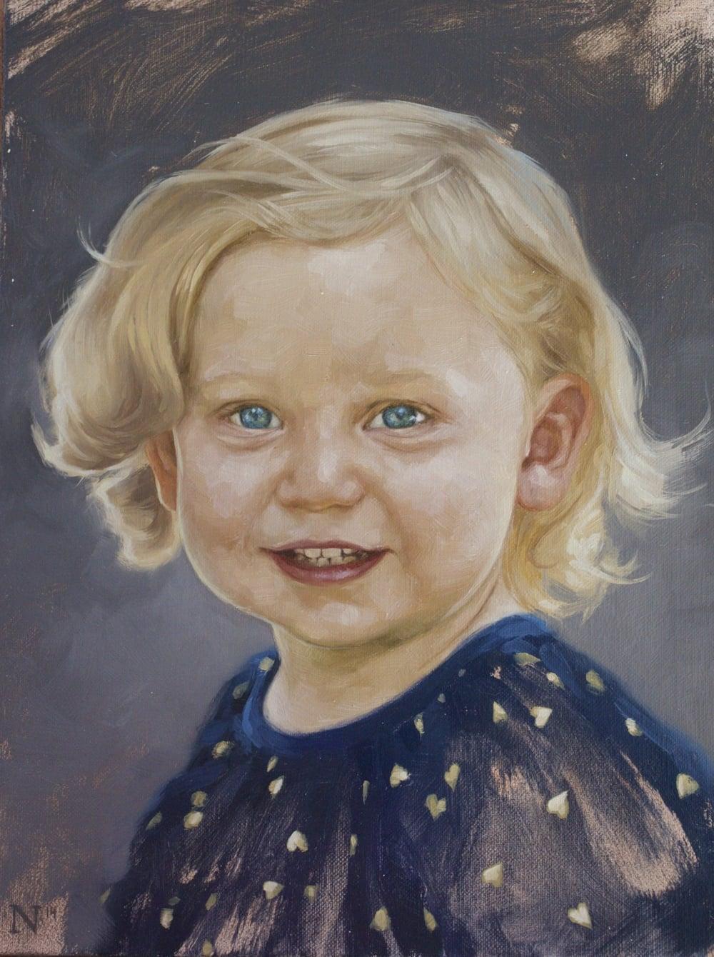 """AARON NAGEL """"Margot 2"""" 2014  Oil on press board.  http://aaronnagel.com"""