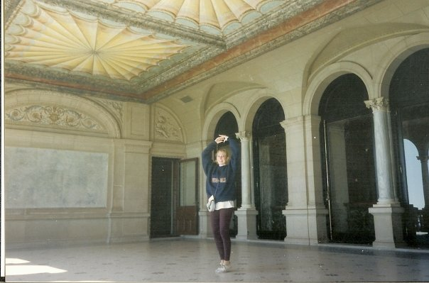 My friend Colleen Bailey at The Breakers