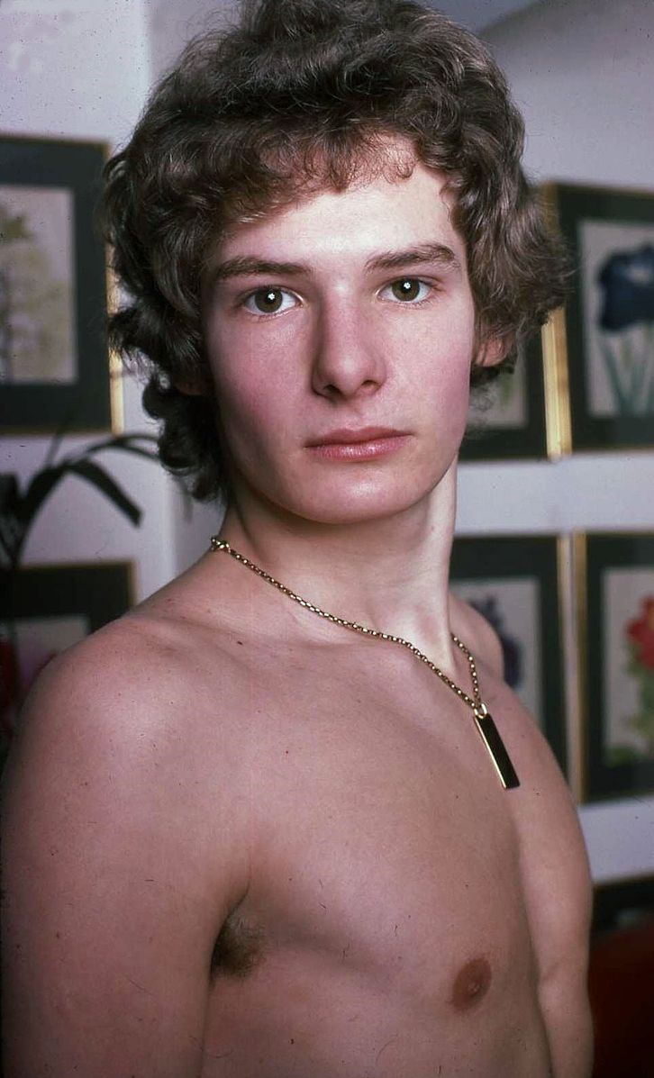 Mark Lester in his 20's when he became friends with Michael Jackson