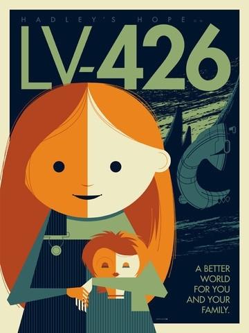 """Tom Whalen """"LV-426"""""""
