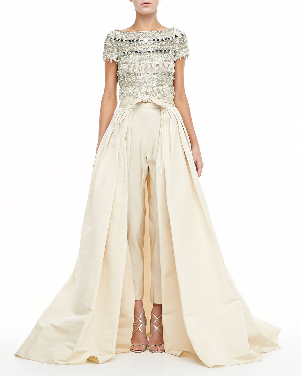 Naeem Khan ball skirt with pants, available at  Bergdorf Goodman