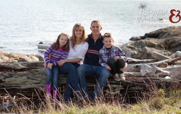 Victoria Fall Family Photo Session